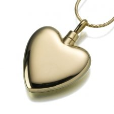 Heart Cremation Pendant IV