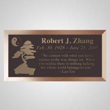 Zen Bronze Plaque