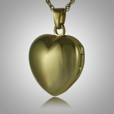 Heart Locket Picture Keepsake Pendant II