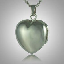 Heart Locket Picture Keepsake Pendant III
