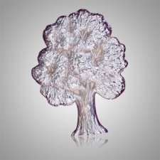 Shade Tree Silver Medallion Appliques