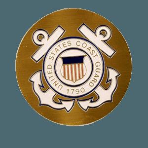 US Coast Guard Medallion Appliques