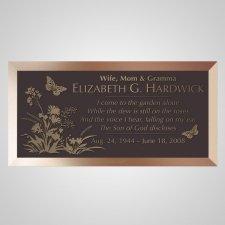 Memories Bronze Plaque