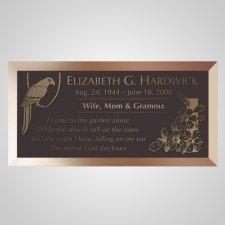 Polly Bronze Plaque