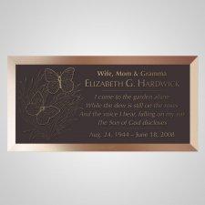 Open Field Bronze Plaque