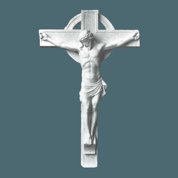 Classic Crucifixion Marble Statue