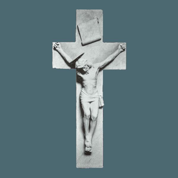 Crucifixion Of Jesus Marble Statue