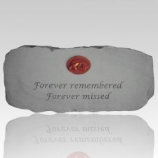 Forever Remembered Forever Missed Bench