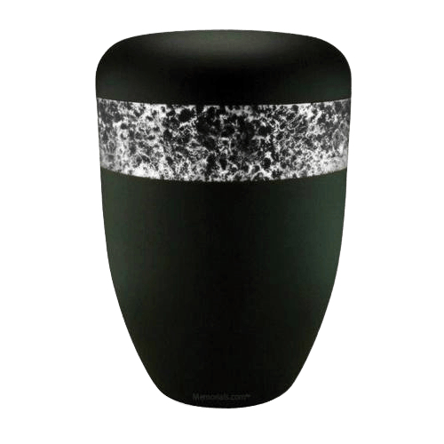 Speckled White Biodegradable Urn