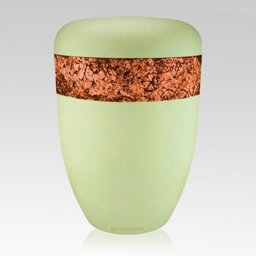 Snakeskin Orange Biodegradable Urn