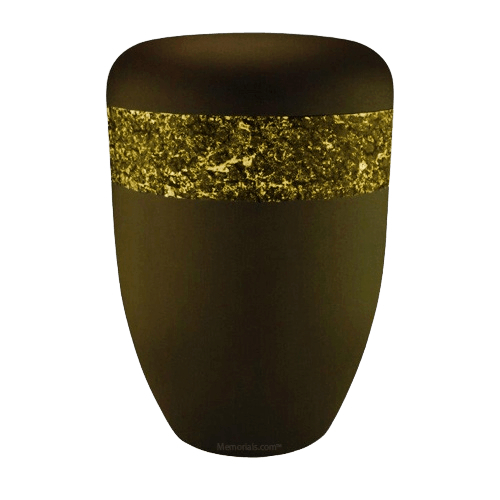Crystal Yellow Biodegradable Urn
