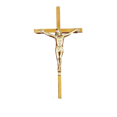 Traditional Crucifix Medallion Appliques