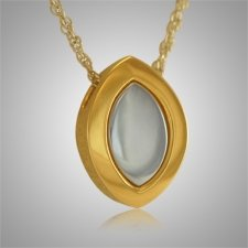 Diamond Shaped Cremation Pendant II