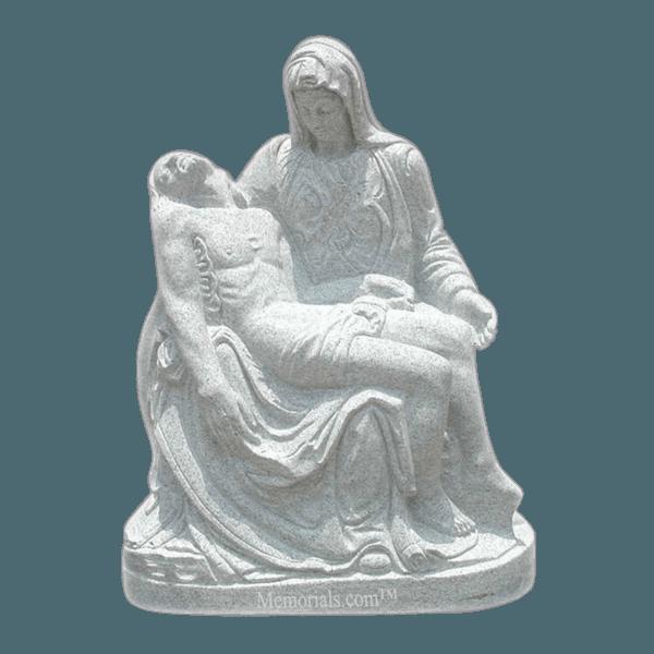 Pieta Granite Statue