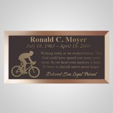 Triathlon Bronze Plaque