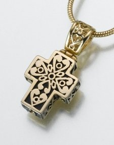 Filigree Cross Pet Memorial Jewelry IV