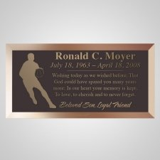 Basketball Bronze Plaque