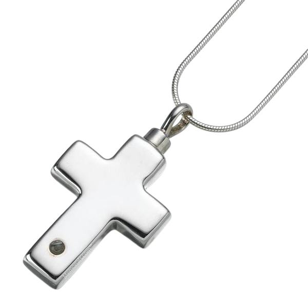 Micro Lens Cross Keepsake Jewelry
