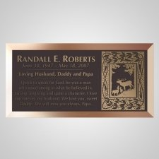 Grasslands Bronze Plaque
