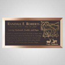 Sabbilo Stream Bronze Plaque