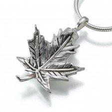 Maple Leaf Keepsake Pendant III