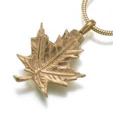 Maple Leaf Keepsake Pendant II