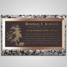 Big Bear Bronze Plaque