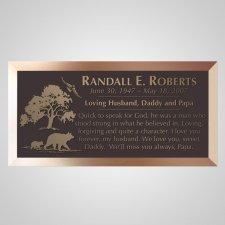 Countryside Bronze Plaque