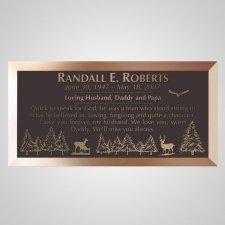 Wildlife Bronze Plaque