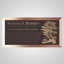 Savanna Bronze Plaque
