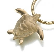 Turtle Cremation Jewelry II