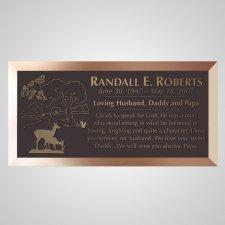 Paradise Bronze Plaque