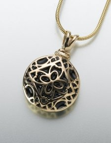 Pet Filigree Memorial Pendants III