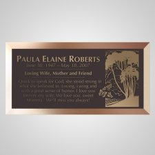 Forest Bronze Plaque
