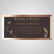 Meadow Bronze Plaque