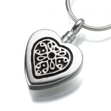 Heart Insert Keepsake Pendant