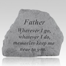 Father Memories Remembrance Stone