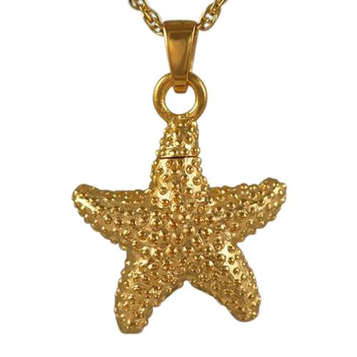Star Fish Cremation Jewelry II