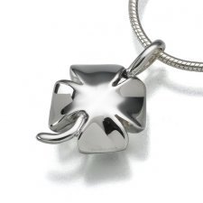 Four Leaf Clover Keepsake Pendant