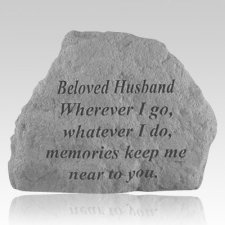 Beloved Husband Wherever I Go Rock
