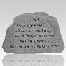 Dad They Say Time Heals Rock
