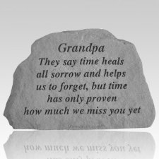 Grandpa They Say Time Heals Rock