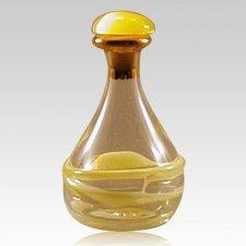 Yellow Tear Bottle