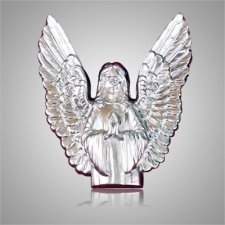 Guardian Angel Silver Medallion Appliques