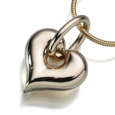 Loop Heart Keepsake Pendant II