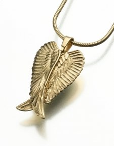 Pet Angel Wings Memorial Pendants II