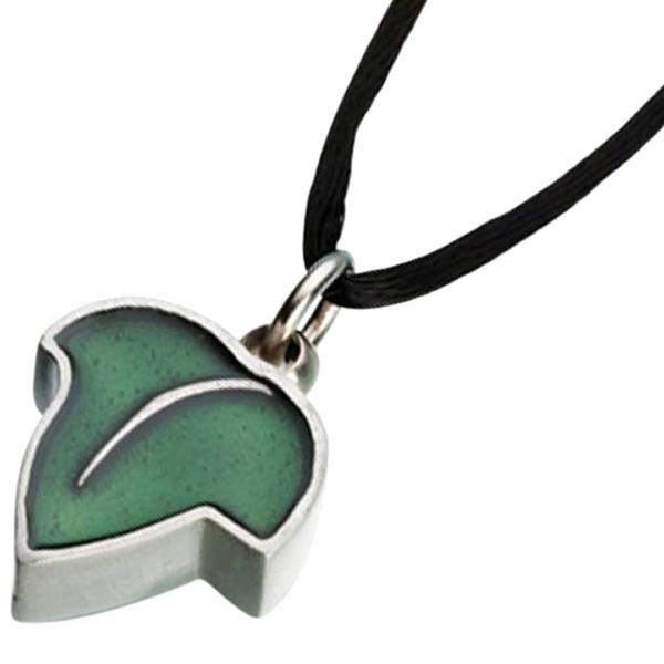 Green Leaf Keepsake Pendant