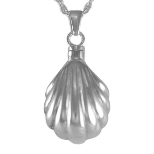 Seashell Keepsake Pendant