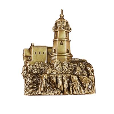 Cliffside Lighthouse Medallion Appliques