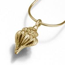 Conch Keepsake Pendant IV